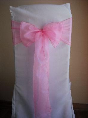 Candy Pink Organza