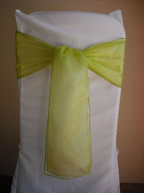 Lemon Organza
