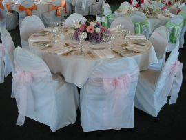 Round top Chair Cover