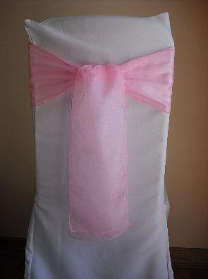 Pale Pink Organza